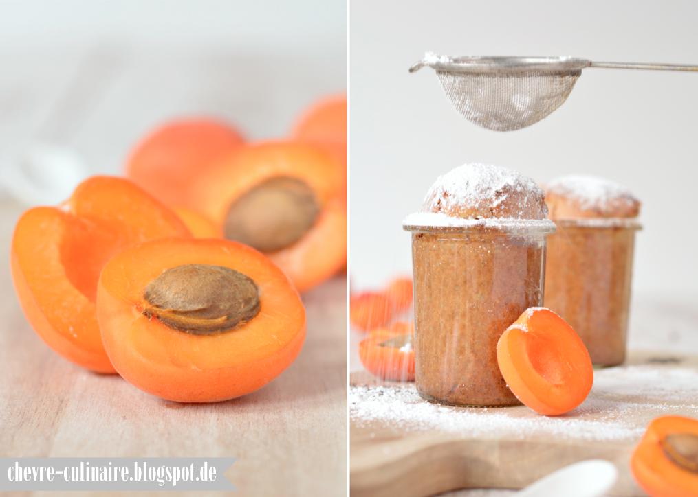 #SuperfoodSamstag bei #feiertaeglich mit einem Rezept für Chia-Küchlein im Glas mit Aprikosen von Chèvre Culinaire