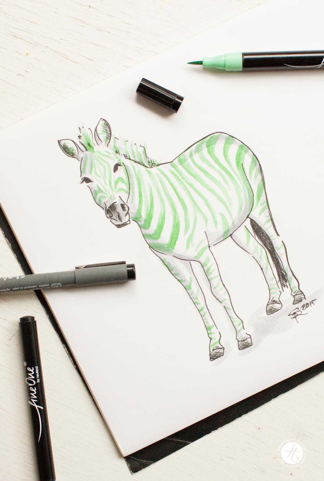Illustration, Zebra, Green-Zebra-Party, Free Printables, #meetthegreenzebra