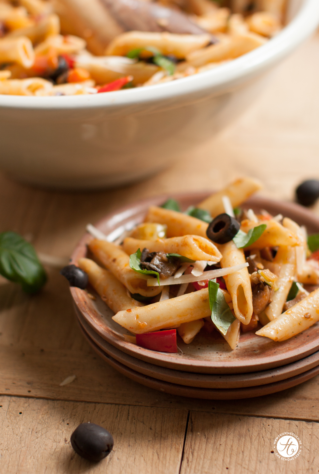 Penne With Ratatouille Recipe — Dishmaps
