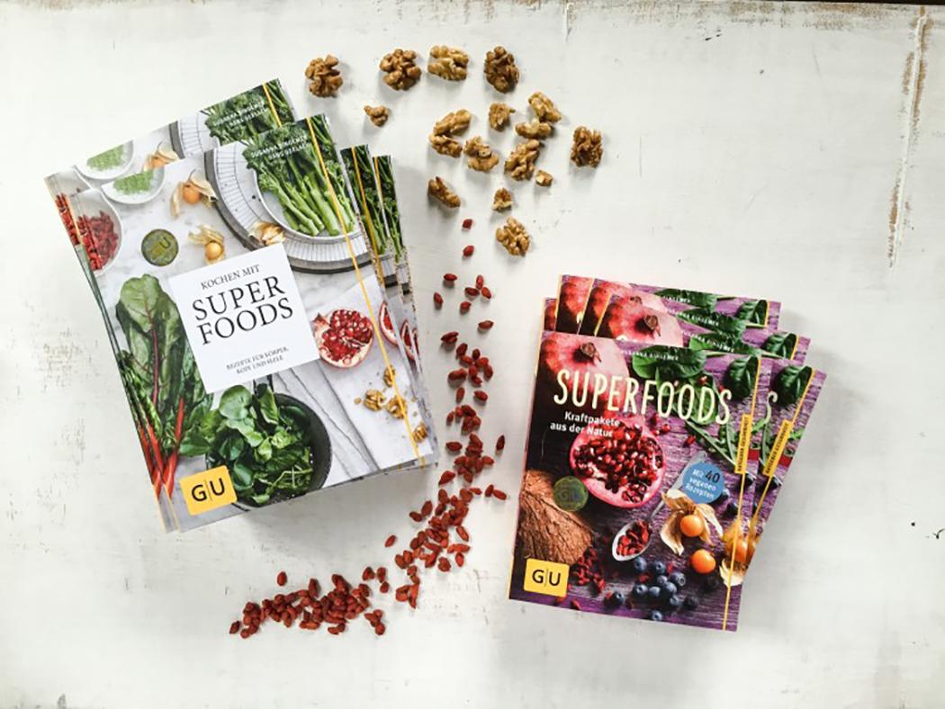 Superfoods Bücher Susanna Bingemann