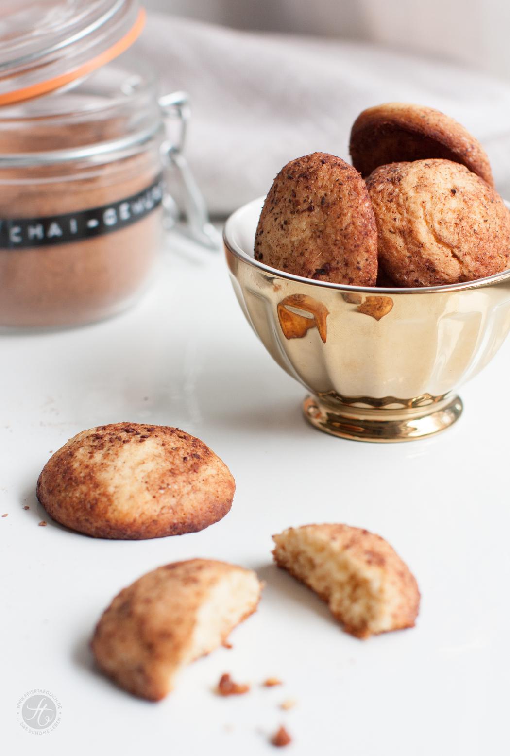 Chai-Honig-Cookies Rezept von feiertäglich