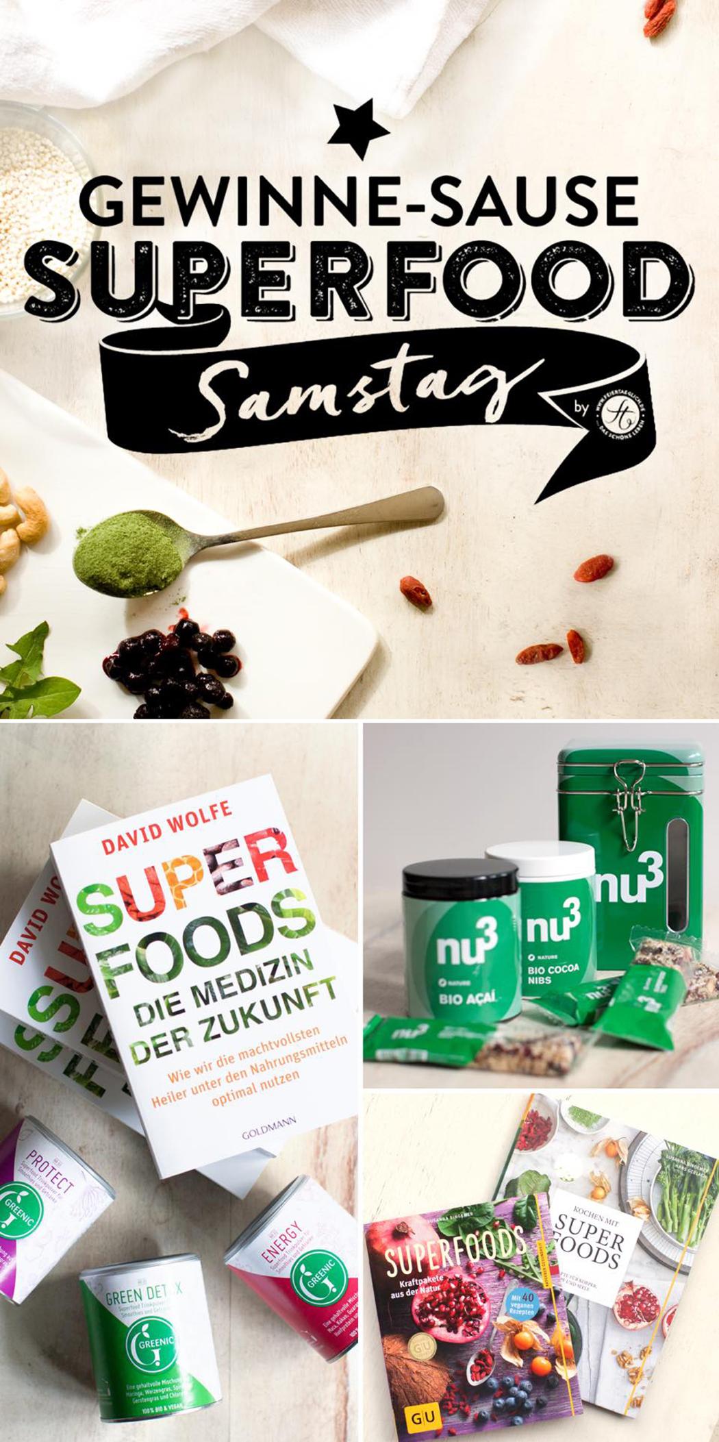 #SupefoodSamstag Gewinne Sause