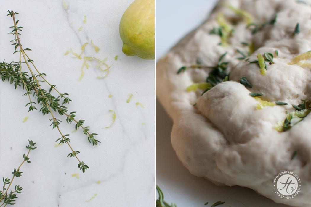 Selbstgebackene Grissini Thymian-Zitrone & Tomate-Rosmarin Rezept von feiertäglich.de