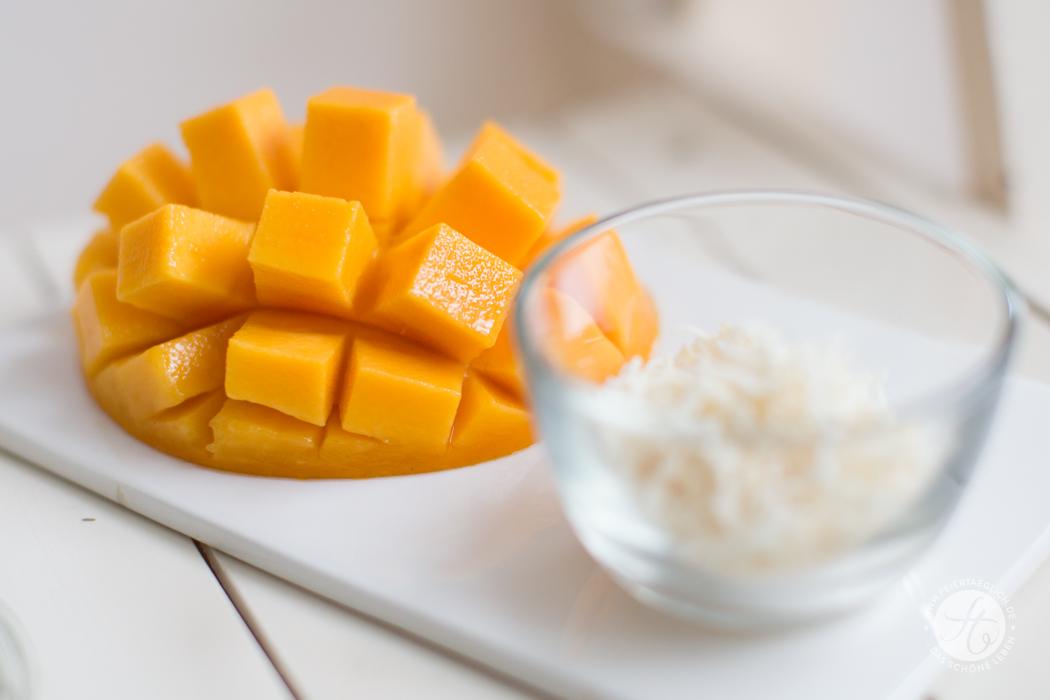 Kokosraspeln & Mango