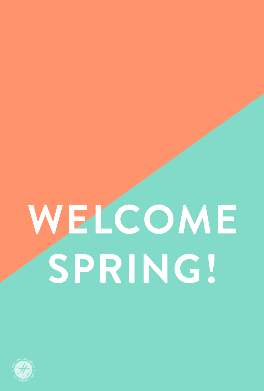 Welcome Spring 2016