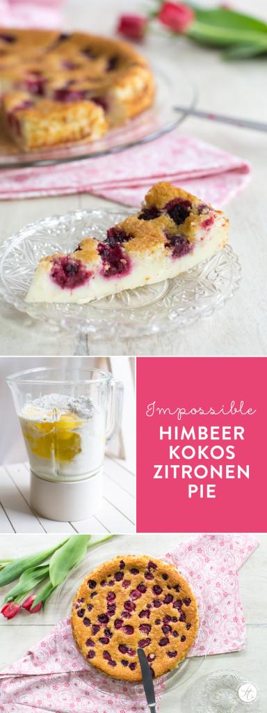 Impossible Himbeer-Kokos-Zitronen Pie – ein 3-Fach unglaubliches Rezept von feiertäglich.de