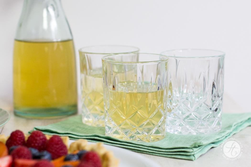 Green-Lime-Honey-IceTea | Rezept von feiertäglich.de