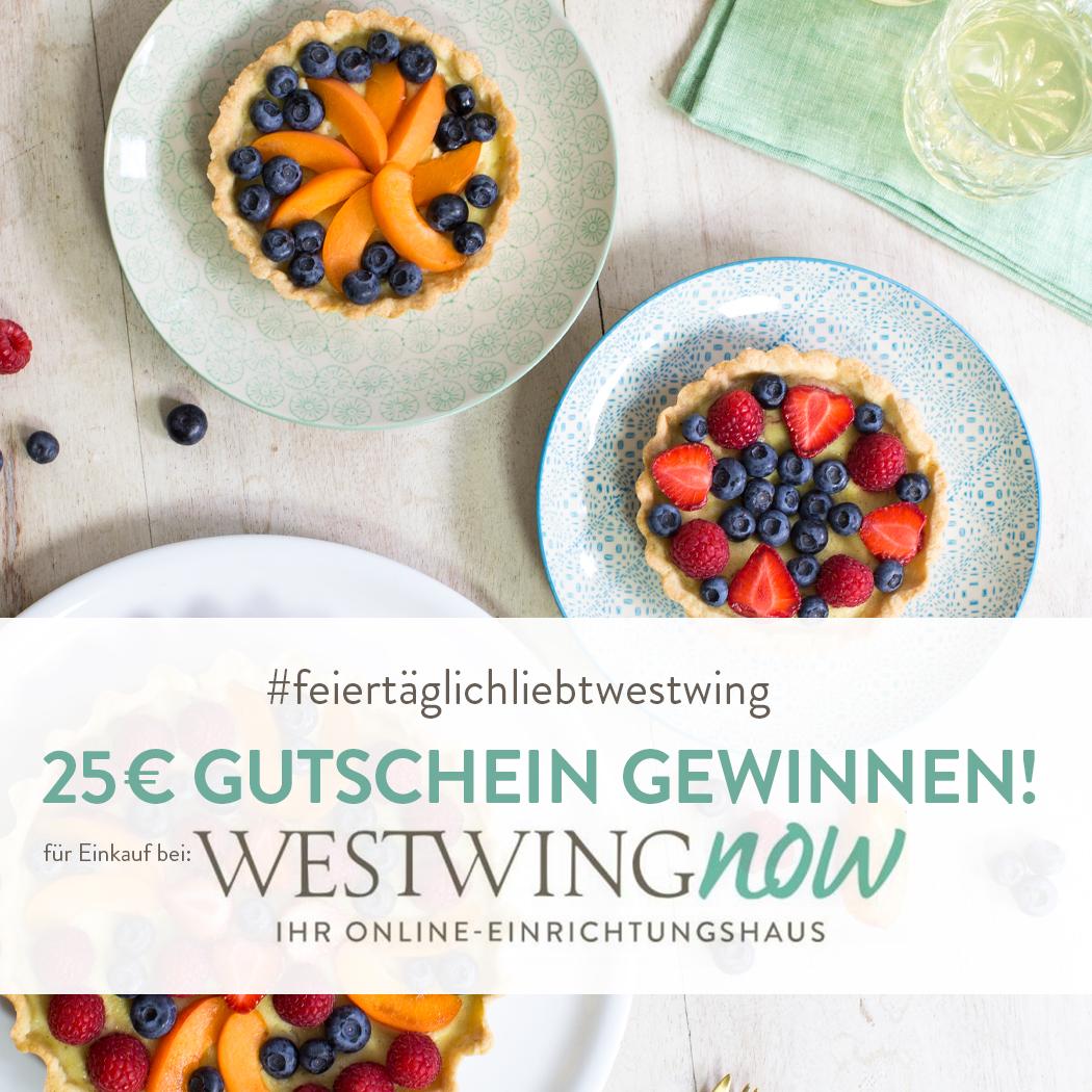 Gutschein WestwingNow gewinnen, #feiertäglichliebtwestwing
