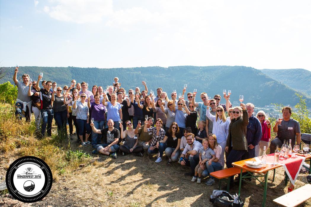 Erben-Gemeinschaft, Erben Weinfest 2016 in Traben-Trarbach