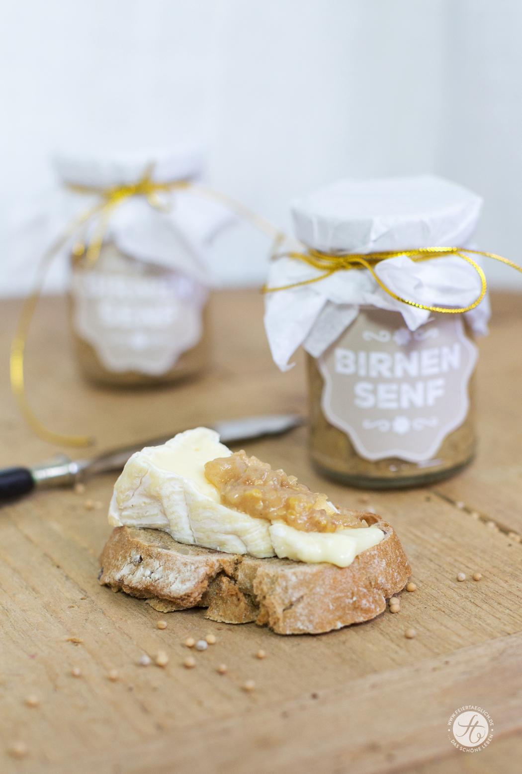 Geschenke aus der Küche: Birnensenf – schnell selbst gemacht & Free ...