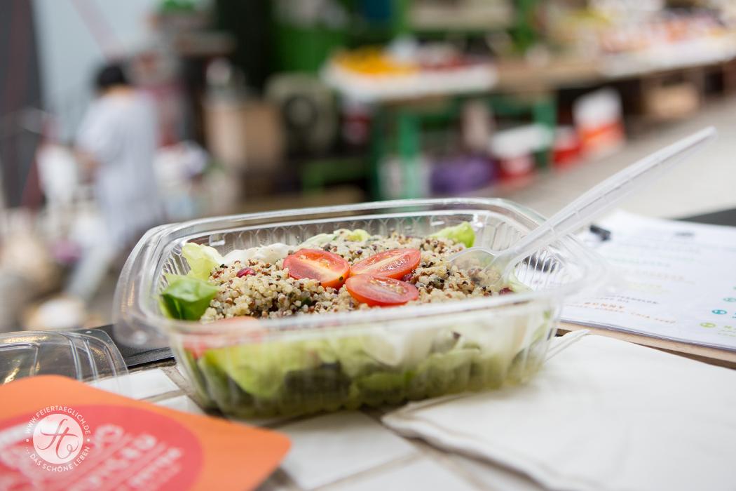 Quinoa Salat: be-juiced