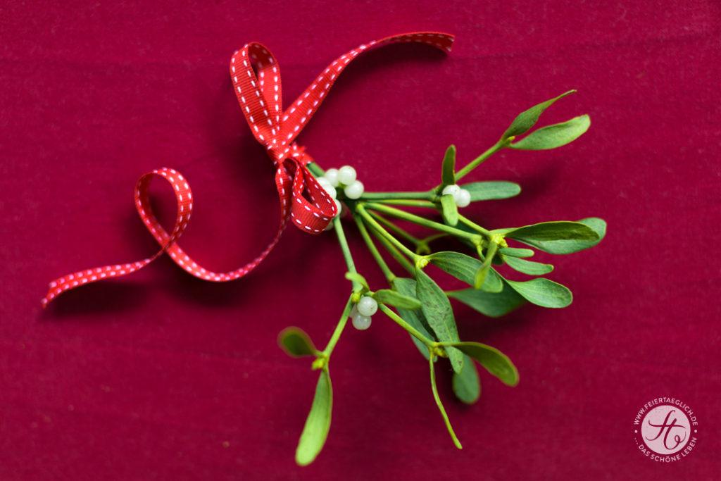 Mistelzweig, weihnachtliche Dekoration, Weihnachten