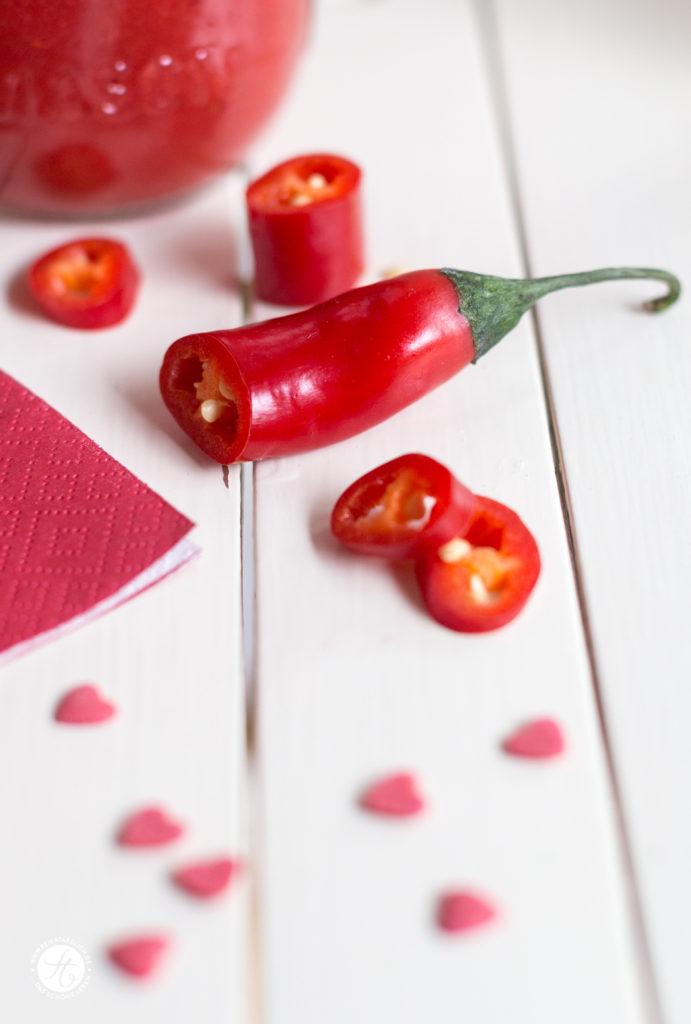 Smoothie mit Chili und Liebe
