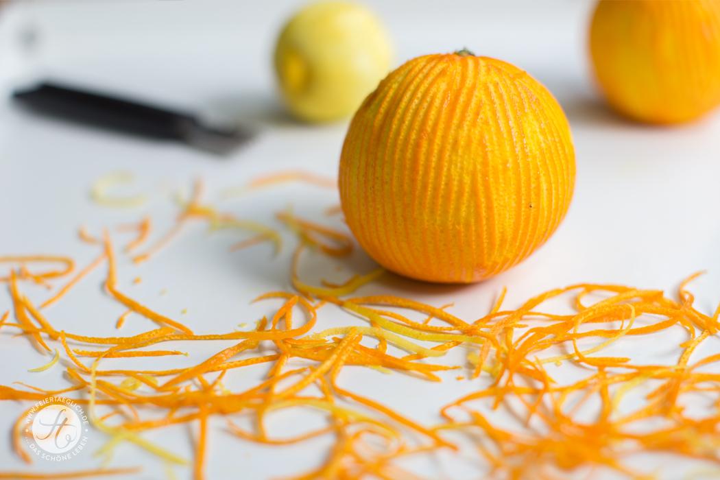 Orangen-und Zitronenzesten
