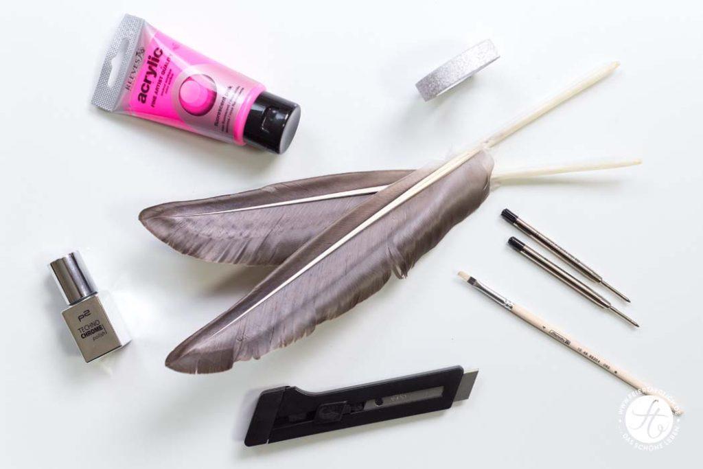 Material DIY Schreibfedern