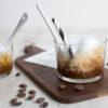 Rezept für Kaffee-Granita mit Vanille-Milchschaum mit Tchibo Blonde Roast