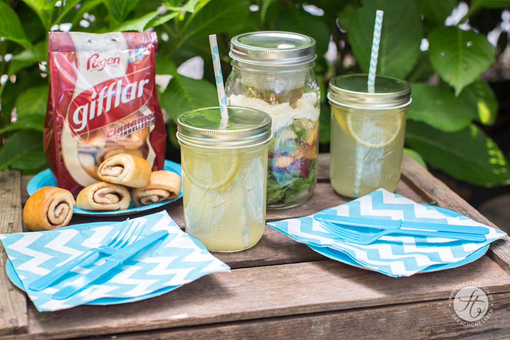 Launemacher zum Picknick