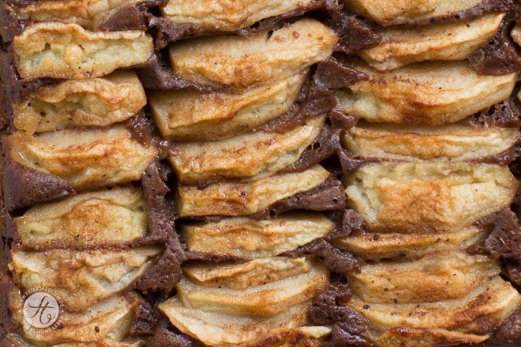 Schoko-Chai-Apfelkuchen, einfaches & schnelles Rezept, große Apfelkuchenliebe zum #Apfelbäckchen Blogevent