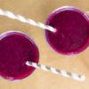 Blaubeere-Rote Beete-Apfel-Mandel-Smoothie, Rezept zum Smoothie Montag