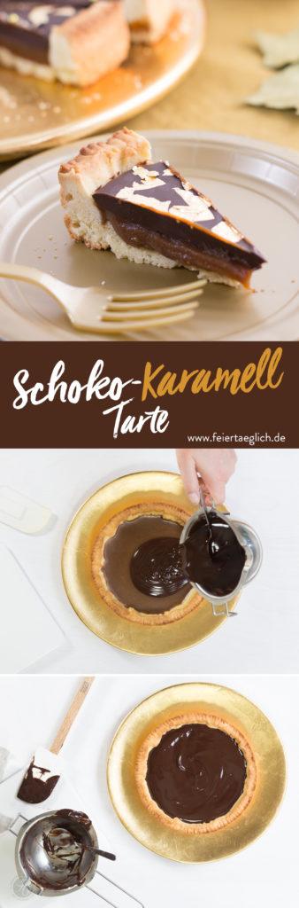 Schoko-Karamell-Tarte, Rezept