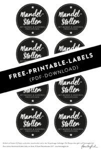 Mandel Stollen im Glas mit Mango_freeprintables_teaser