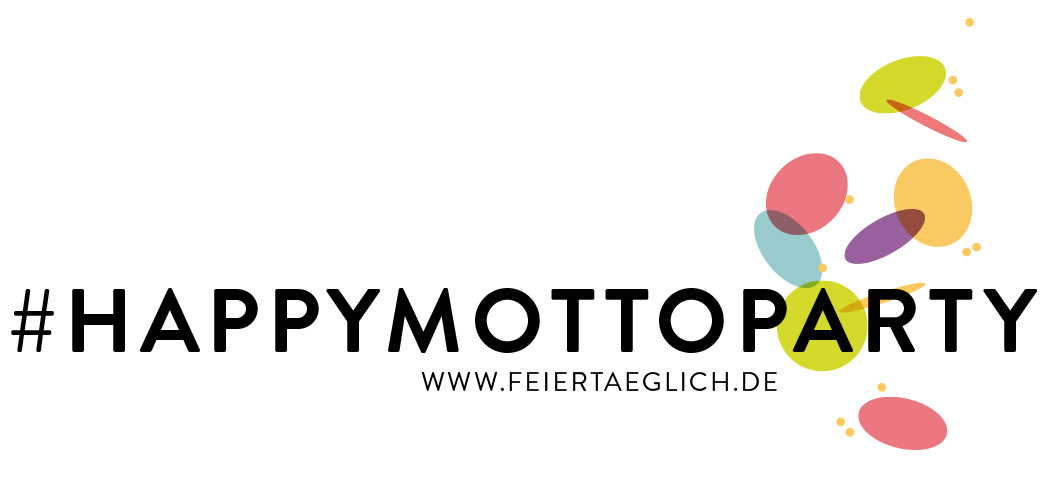 #happymottoparty feiertaeglich Logo