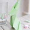 Origami Hase, Faltanleitung, DIY aus Papier