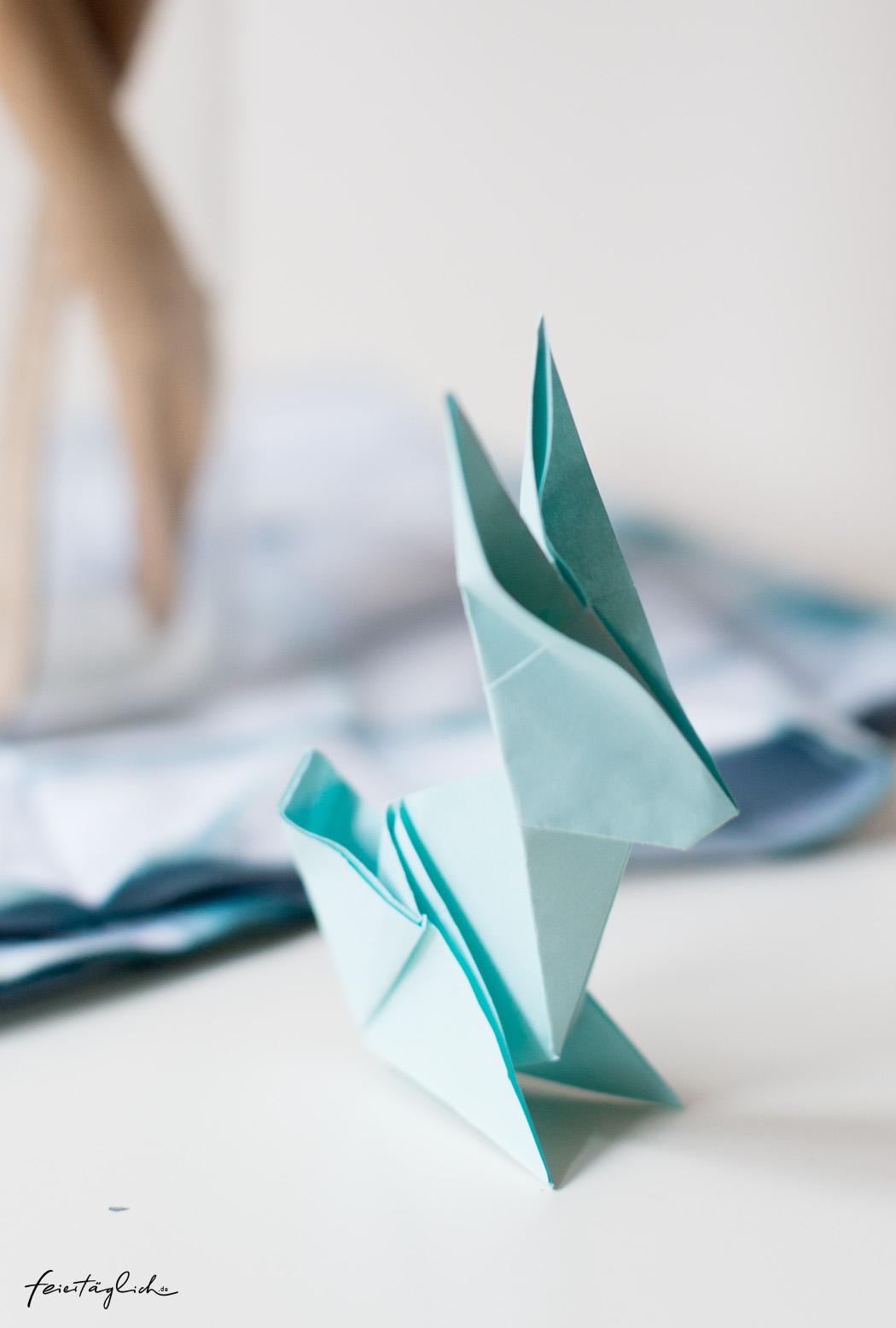 Origami Hase, Osterhase, DIY