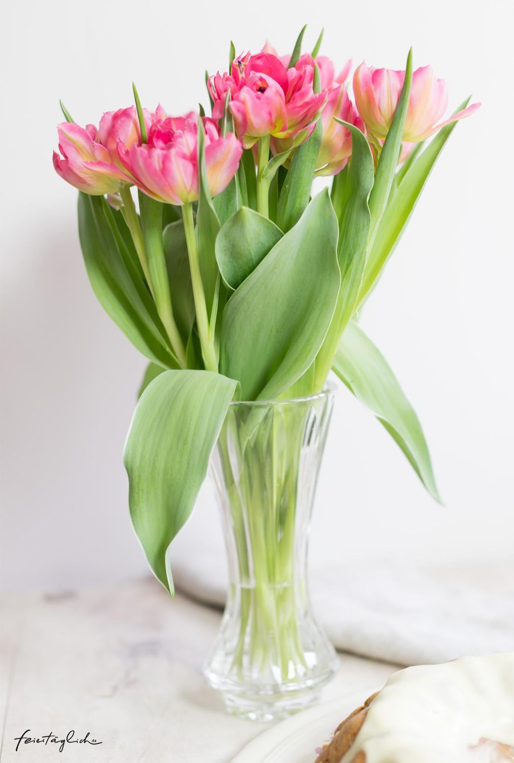 gefüllte pinke Tulpen