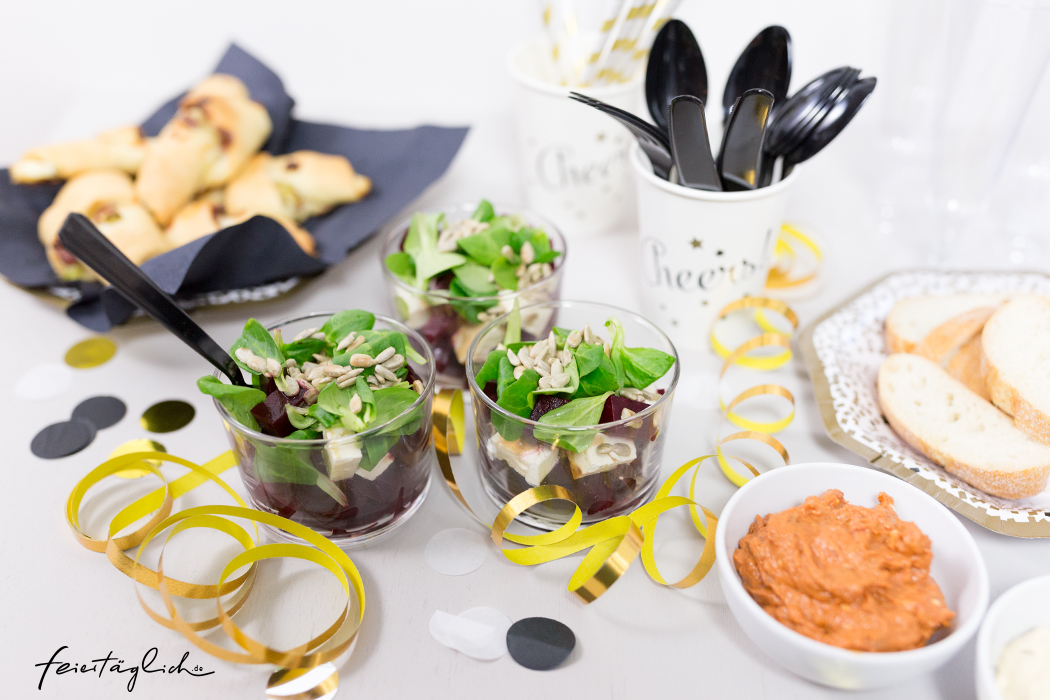 Fingerfood Sylvesterbuffet #happymottoparty