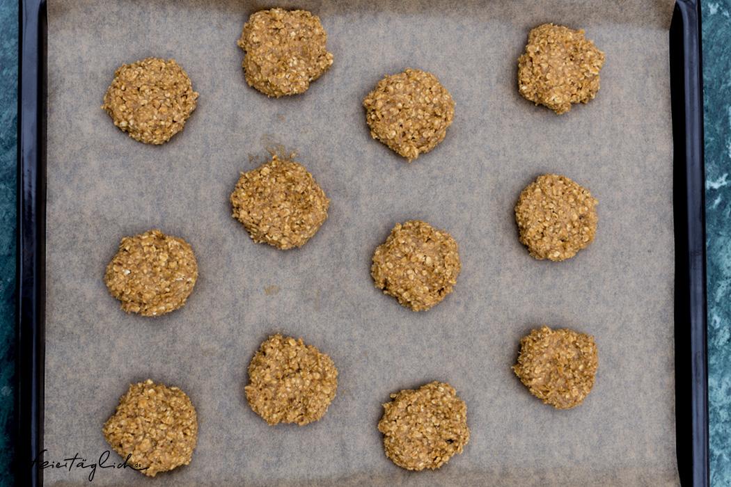 Knusprige Hafercookies mit Kokosblütenzucker und Zimt...die sind immer eine gute Idee