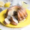 Zitronen-Mohn-Marmor-Gugelhupf, Rezept für einen saftigen und besonderen Marmorkuchen #Marmorkuchen #Gugelhupf