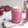 Pink Latte (Rezept mit Rote Beete, Ingwer, Kurkuma & Zimt)