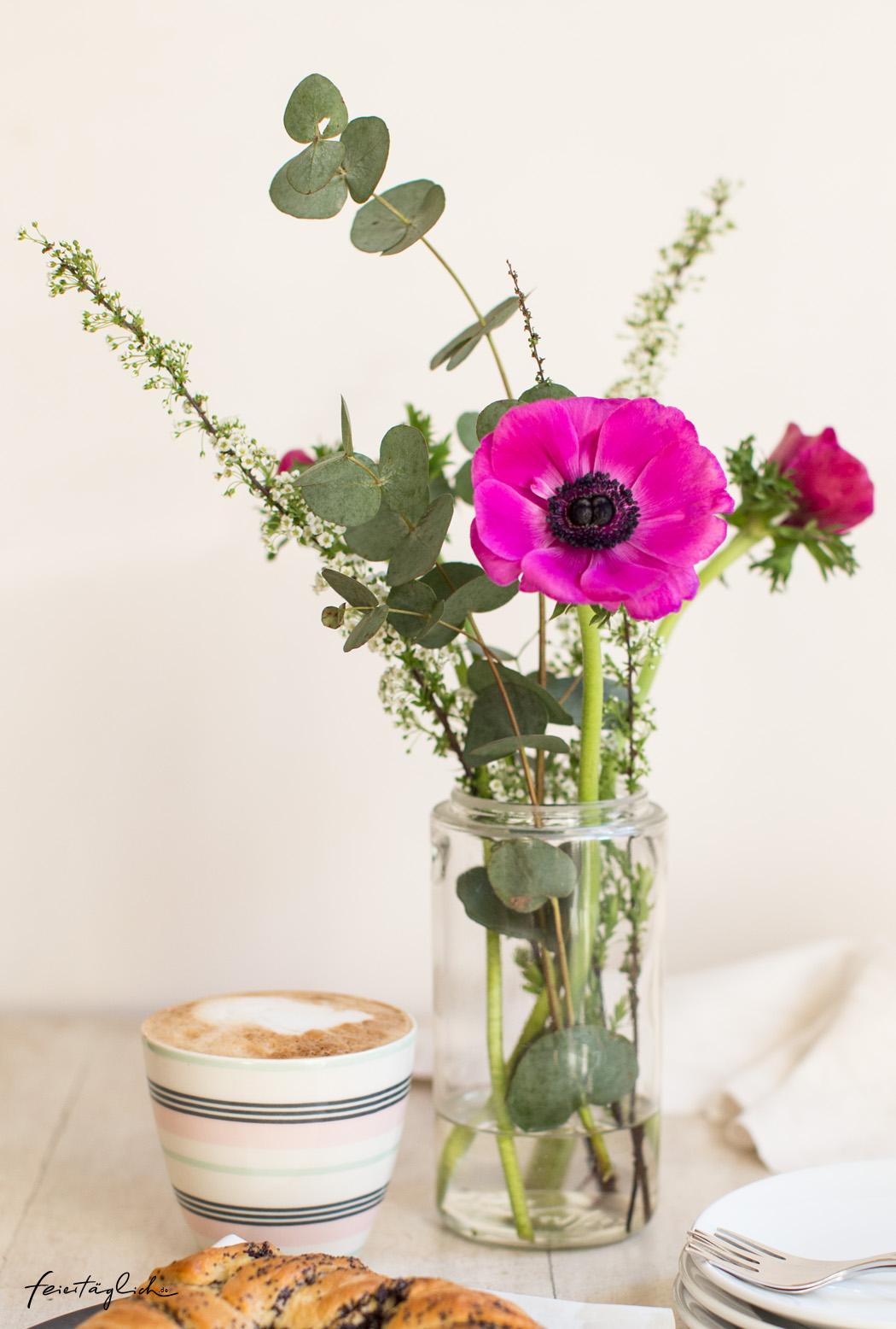 Blumenstrauss, Frühling, pink