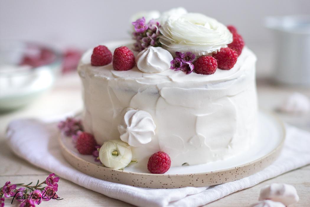 Himmlische Himbeer-Joghurt-Torte, Rezept