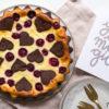 Käsekuchen mit Schokoboden, Kirschen und ganz viel Liebe oder Russischer Zupfkuchen á la Schwarzwälder Kirsch