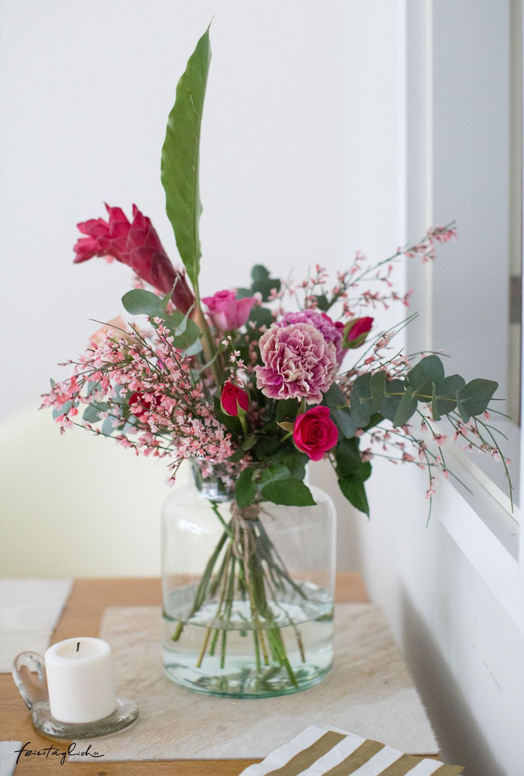 Lieblings-Blumenstrauss März 2020