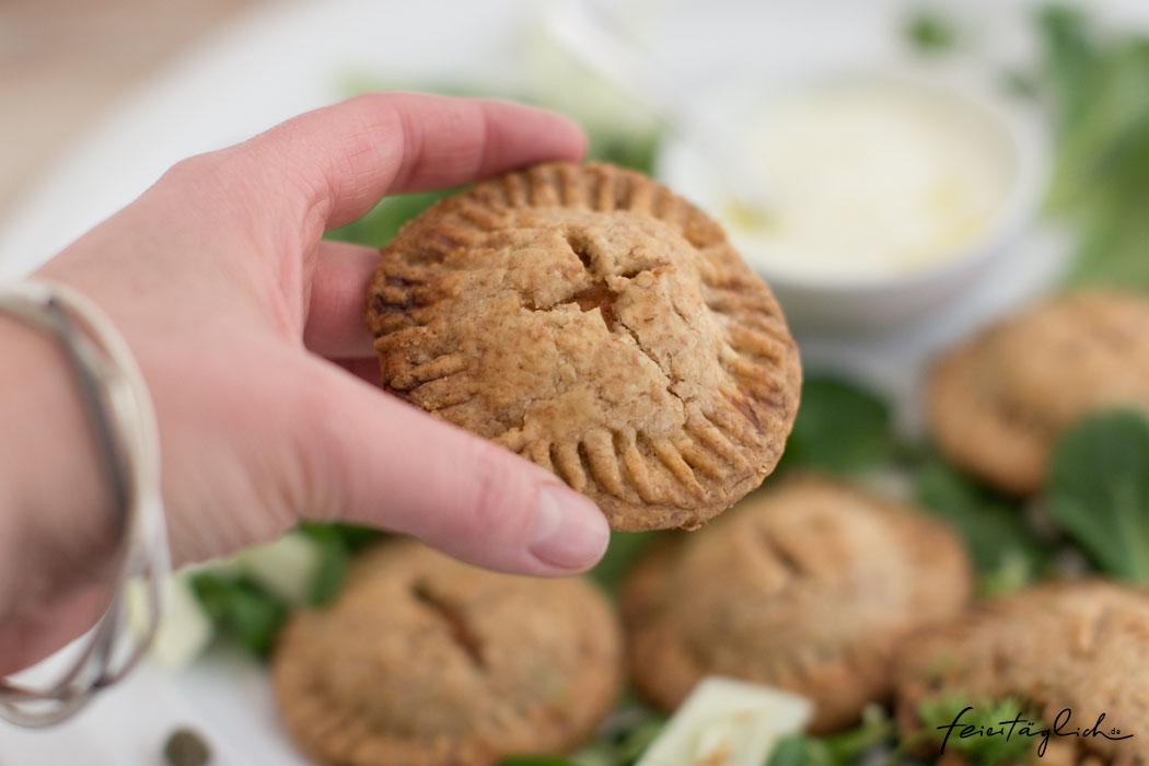 Rezept für knusprige Thunfisch-Hand-Pies