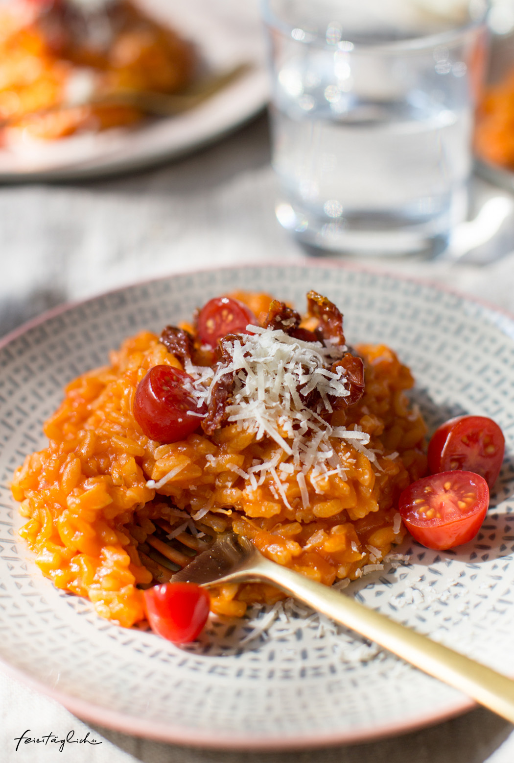 Rezept für Tomaten-Risotto – ein Lieblingsessen für die ganze Familie