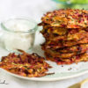 Bunte Gemüse-Puffer aus dem Ofen, ein schnelles Familien-Lieblings-Rezept