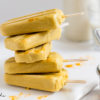 Rezept für Goldene-Milch-Eis am Stiel oder Kurkuma-Latte-Popsicles