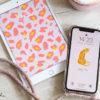 Wallpaper im Leo-Look für Handy, Pad und Computer – Technik-Kleider zum free download, Design Bildschirmhintergründe