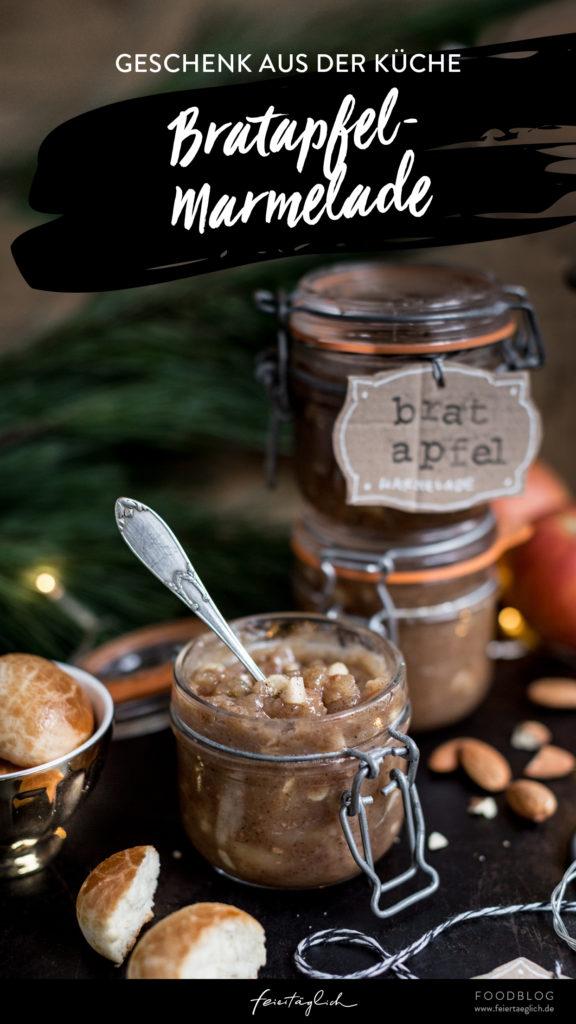 Rezept für Bratapfel-Marmelade – ein Geschenk aus der Küche