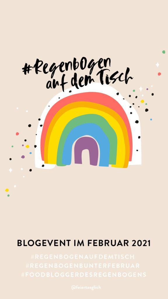 #regenbogenaufdemtisch Blogevent feiertaeglich