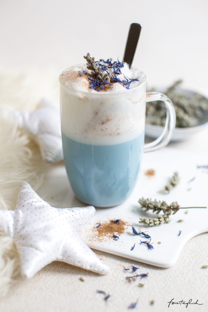 Blue Moon Latte – Rezept