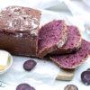 Lila Dinkel-Toastbrot mit Sauerteig und violetten Karotten – Rezept