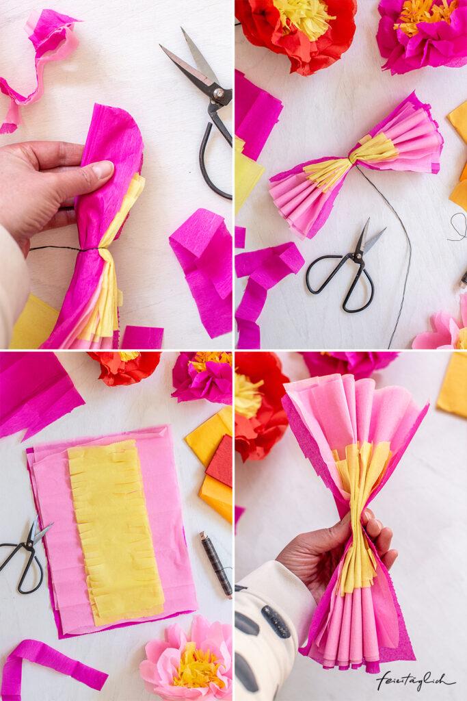 DIY Pfingstrosen aus Papier – eine einfache Anleitung